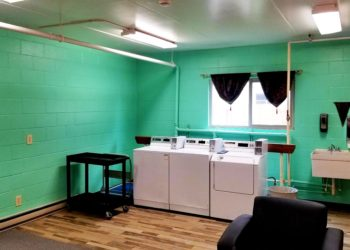 Bannock Arms Laundry Room