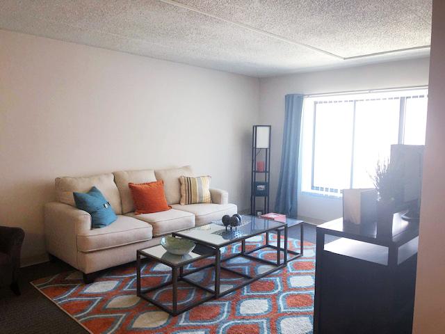 Bicentennial Tower Living Area