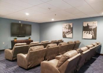 Bicentennial Tower Movie Theater