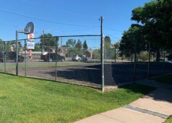 Sheridan Gardens Basketball Court