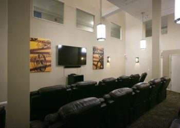 South Village II Movie Room
