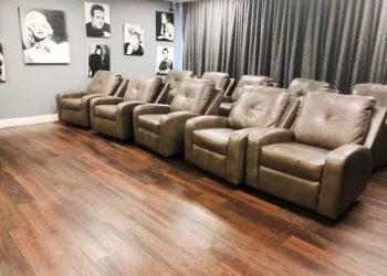 St. Francis Manor Movie Room